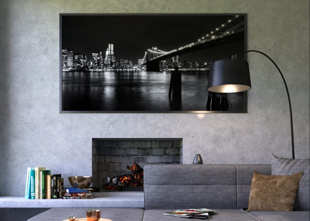 Wide Frame for Wall Photo