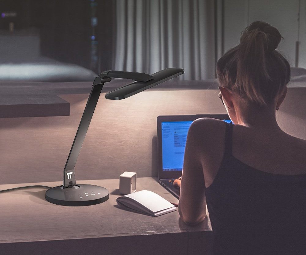 TaoTronics LED Desk Lamp Fully Rotatable and Dimmable